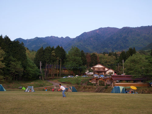 市房山キャンプ場